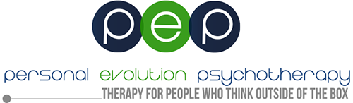 Personal Evolution Psychotherapy PEP logo